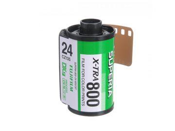 Fujifilm Superia X-TRA 800 Film