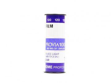 Fujichrome Provia 100F Film 120  Professional