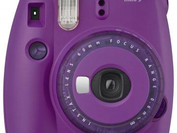 Fujifilm Instax Mini 9  Clear Purple  Instant Foto-aparat