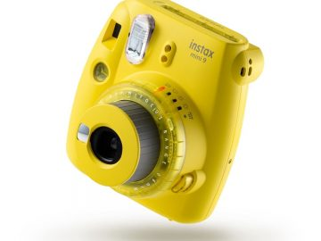 Fujifilm Instax Mini 9 Clear Yellow  Instant Foto-aparat