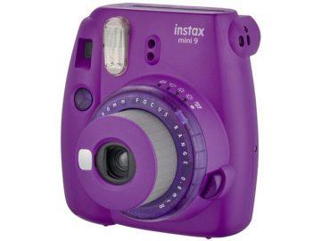 Instax Mini 9 Fujifilm (Clear Purple) Instant Foto-aparat