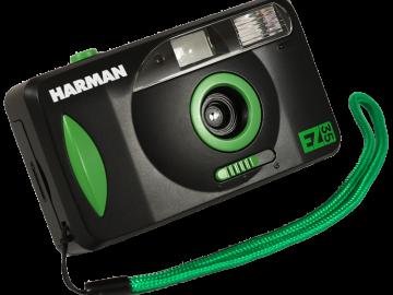 Foto aparat HARMAN EZ 35 sa blicem + 1 film HP5 gratis